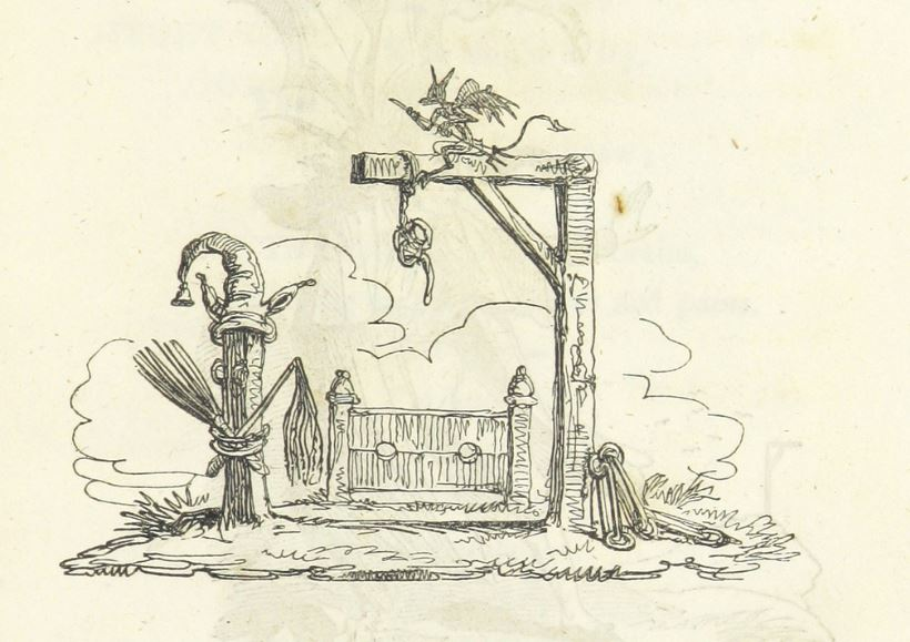 1820 gallows stocks other punishments