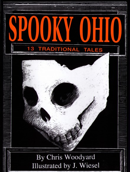 Spooky Ohio: 13 Traditional Tales Book Cover