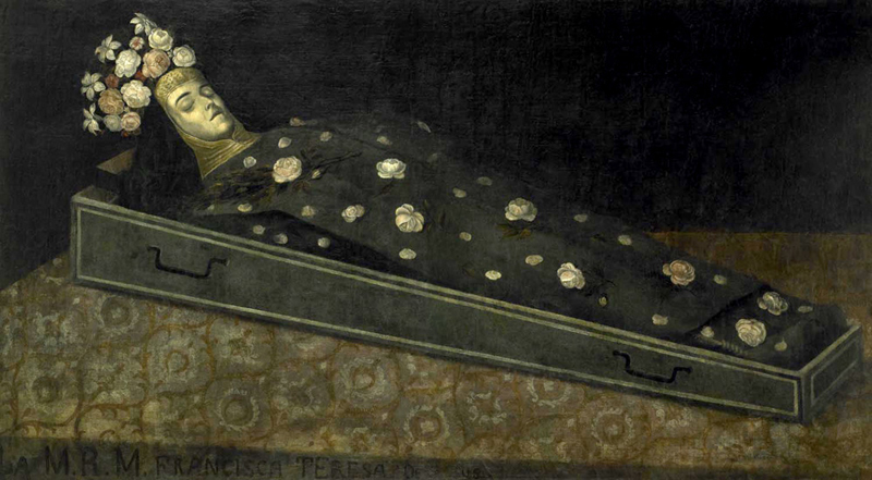 A Dead Nun for Dia de los Muertos: Nobody expects the Spanish decomposition... A dead nun lies in state in her coffin
