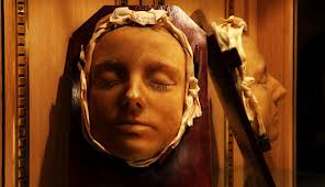 Ghostly death mask Mary Queen of Scots