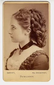 Victorian chignon hair do