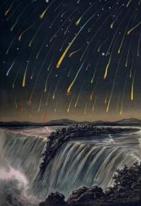 Vintage meteor fall