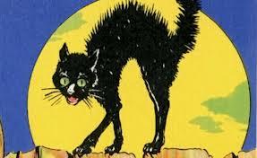 Evil Victorian cat