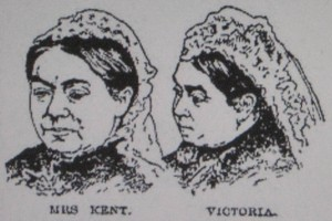 Mrs Kent and Queen Victoria. Compare and contrast.