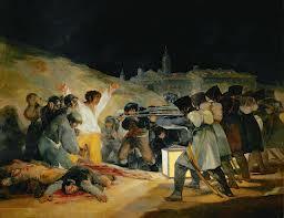 El Tres de Mayo, 1808, Francisco Goya, Wikipedia Commons