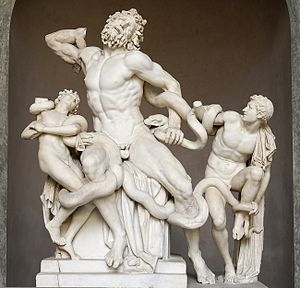 A Woman-Eating Serpent: Hissssteria over Snakes Laocoön and his sons attacked by sea-snakes.