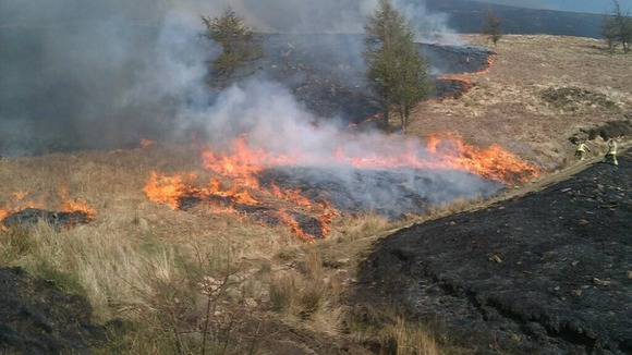 Fiery Exhalations in Wales Welsh grass fires. http://www.itv.com/news/wales/2012-03-26/carelessness-can-cause-grass-fires/