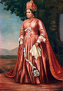 Queen Ranavalona I, whose death was predicted by the Death-fires of Madagascar