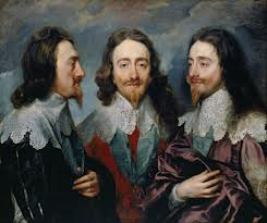 Sad Stories of the Death of Kings The van Dyck triple portrait of Charles I from which Bernini created his bust.