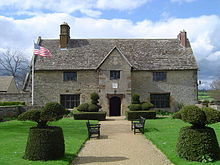 Sulgrave Manor as it appears today.