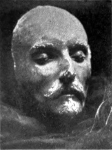 """Attend, ye braves!"" Shakespeare Speaks from the Beyond The so-called ""Shakespeare death mask."""