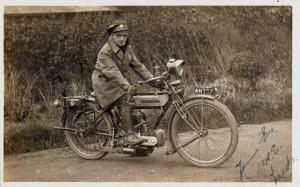 Harold Wilbert, Royal Engineers despatch rider. http://www.nam.ac.uk