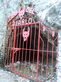 The Devil and the Cave of Gold The Devil's Cave, Mazatlan, Mexico. http://www.waymarking.com/waymarks/WMFG93_La_Cueva_del_Diablo_Mazatlan_Sinaloa_Mexico