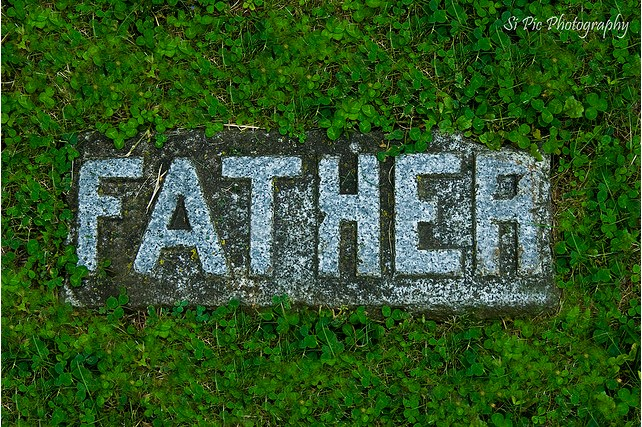 Father's Ghost Fetches the Dying Image from http://ginva.com/2011/01/creative-gravestone-architect-and-design/