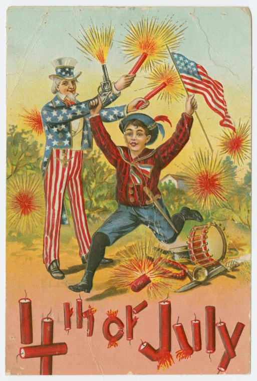 Johnny's Fourth of July The dangers of the Fourth of July, From the New York Public Library Digital Collection