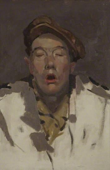 The Stiff of Dreams Sleeping Boy, John Galt, c. 1917 http://www.bbc.co.uk/arts/yourpaintings/paintings/sleeping-boy-40013