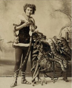 An unknown Victorian-era snake charmer. From The Cult of Weird
