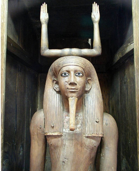 Ka Statue from The Egyptian Museum in Cairo