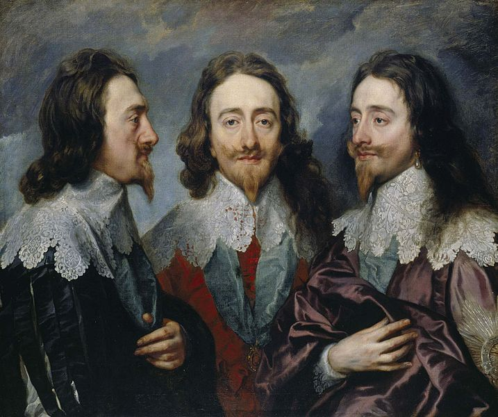 charles I triple portrait