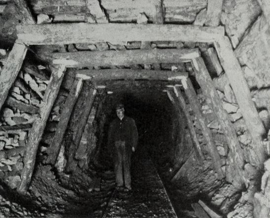 The Black Specter in the Mine From the book, Coal Mining in Illinois, 1915