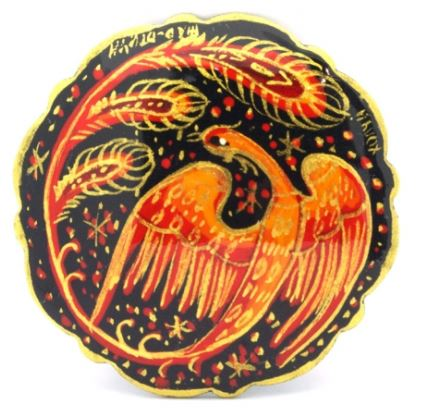 Russian firebird http://buyrussiangifts.com/index.php?route=product/product&product_id=1305