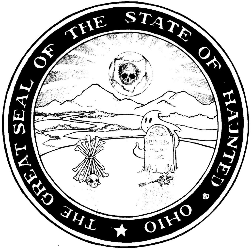 The Great Seal of the State of Haunted Ohio