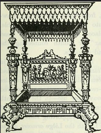 jacobean 4 poster bed
