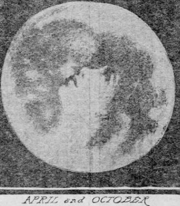 April and October Madonna in the Moon