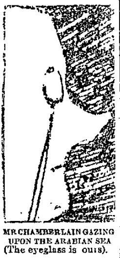 Chamberlain Arabian map face