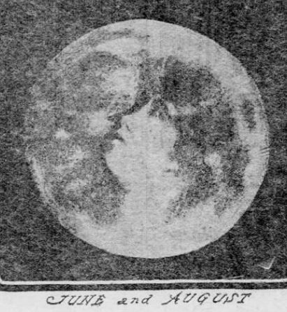 June and August Madonna in the Moon