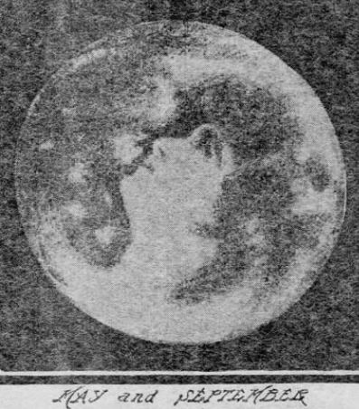 May and September Madonna in the Moon