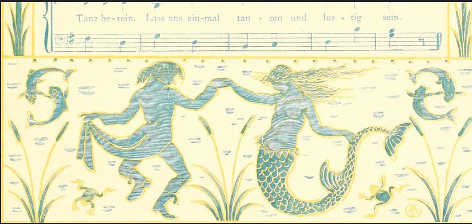 Walter Crane, The Mermaid Dance, c. 1880s