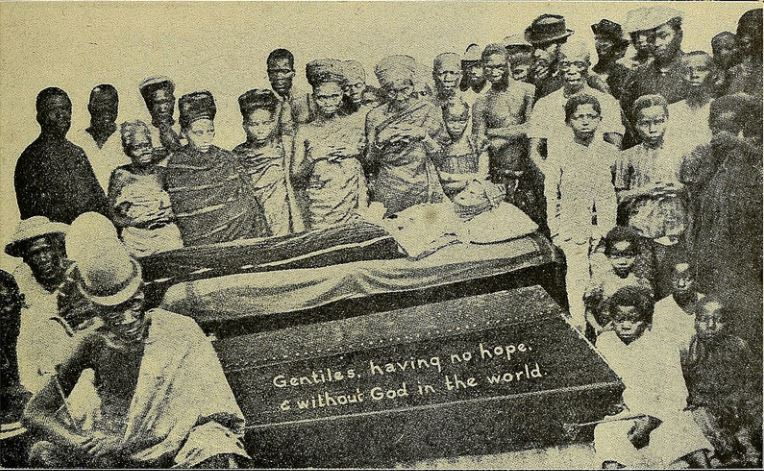 1907 fetish priest funeral