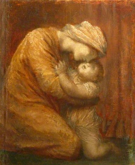 Mother and Child, George Frederic Watts, c. 1903 http://www.bbc.co.uk/arts/yourpaintings/paintings/mother-and-child-13241