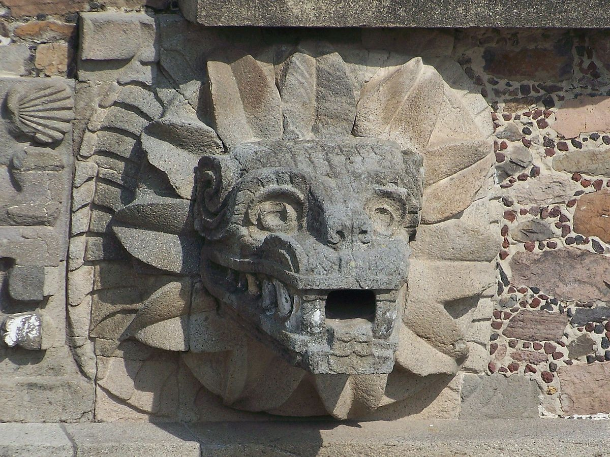 Creature Feature: The Mexican Mine Monster The Feathered Serpent of Teotihuacan