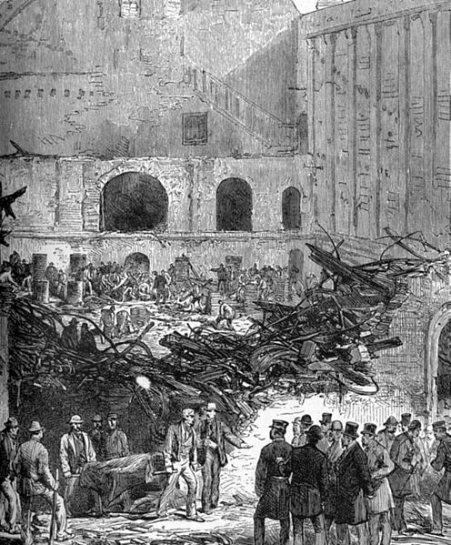 The Brooklyn Theatre Fire