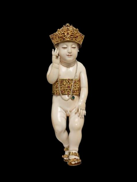 The Burmese Bambino Buddha http://collections.vam.ac.uk/item/O451098/image-of-the-infant-christ-object/