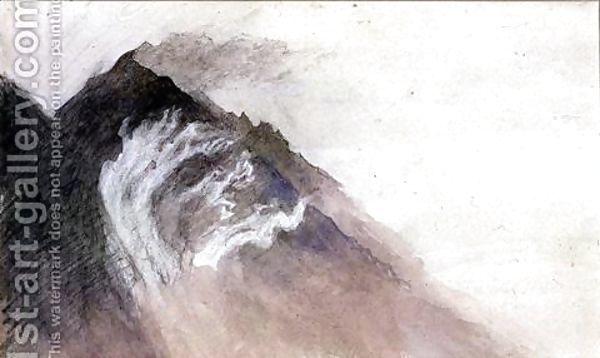 Only Holes Cahmonix Mt Blanc, John Ruskin
