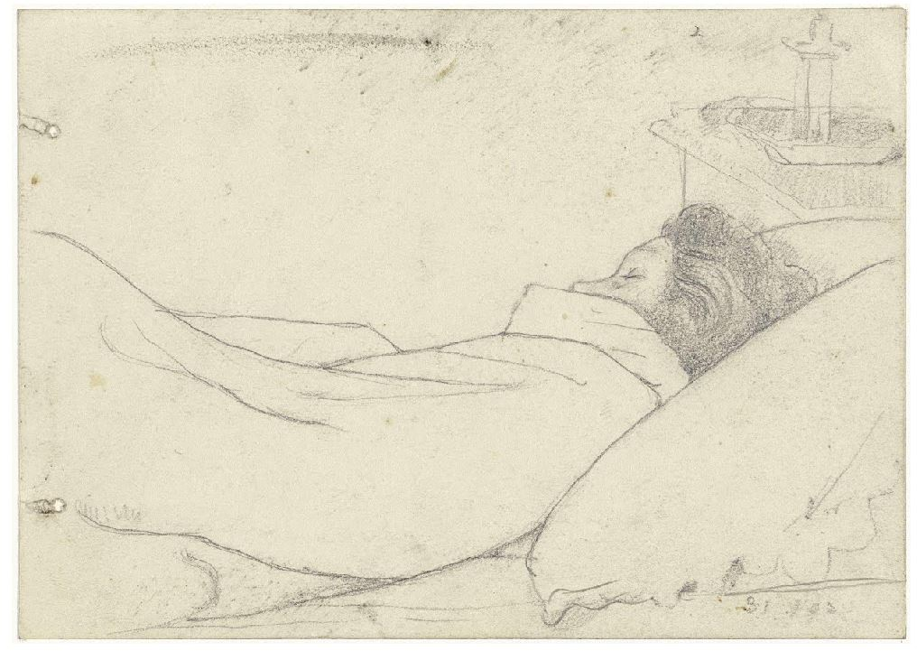 Tucked Up In Bed Richard Nicolaas Roland Holst 1903