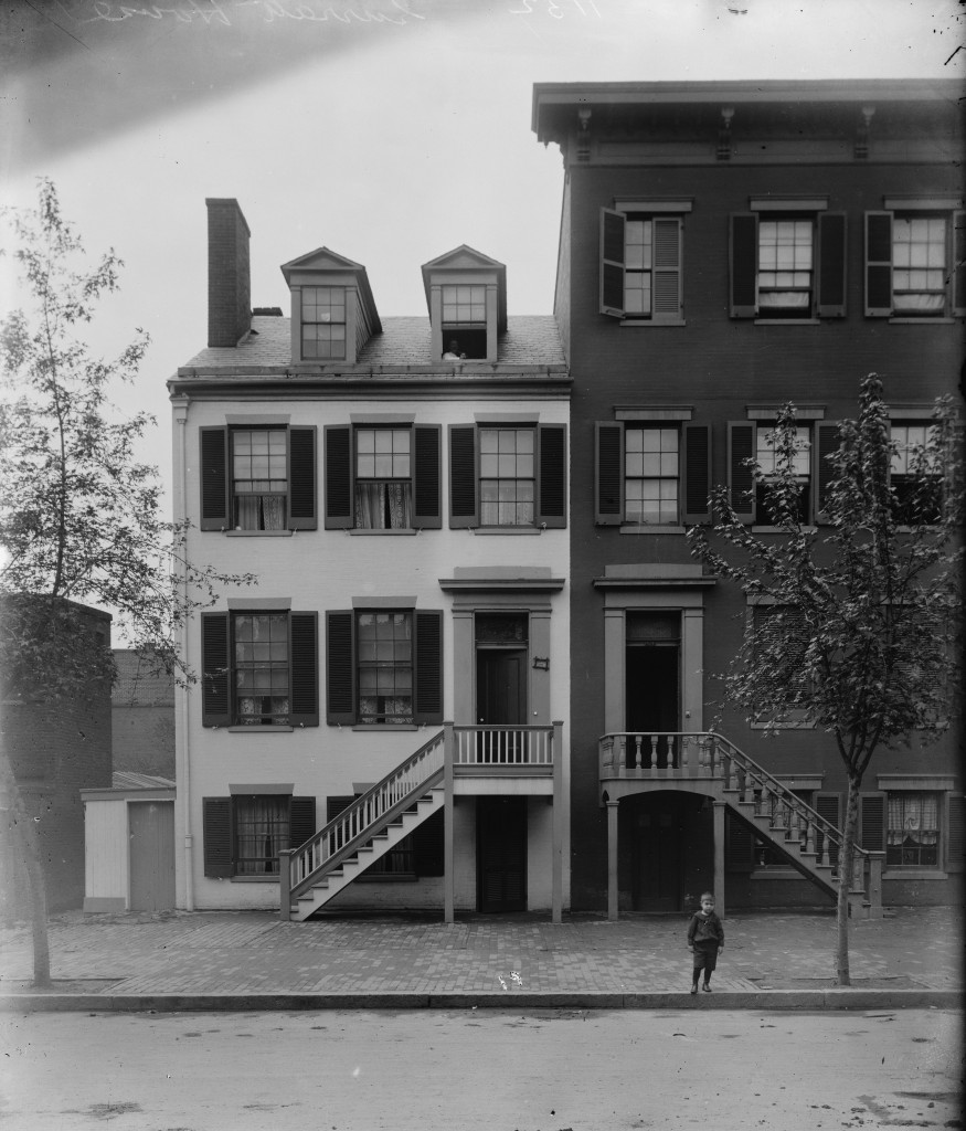 Mrs. Surratt's House is Haunted The Surratt Boarding house, Matthew Brady, Library of Congress images http://hdl.loc.gov/loc.pnp/cwpbh.03432.