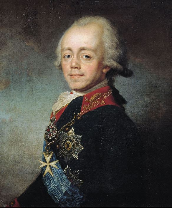 Tsar Paul I, Stepan Shchukin