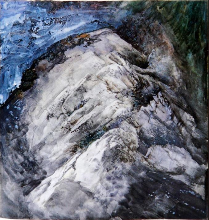 Only Holes, Rocks and Vegetation at Chamonix, John Ruskin 1854