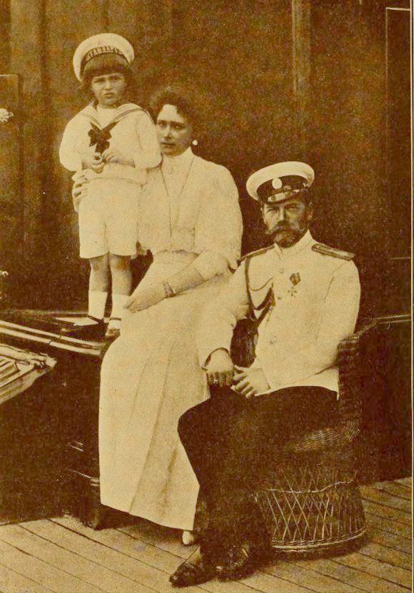 Dreaming of Death for the Romanovs Tsar Nicholas II, Tsarina Alexandra, Tsarevich Alexei