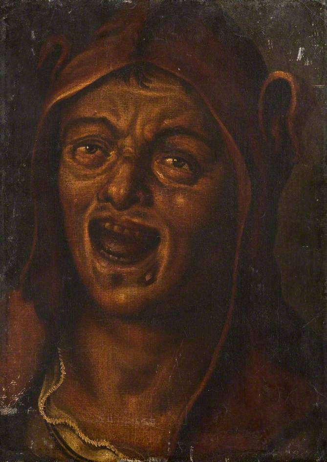 unknown artist; A Jester; Dulwich Picture Gallery; http://www.artuk.org/artworks/a-jester-200331