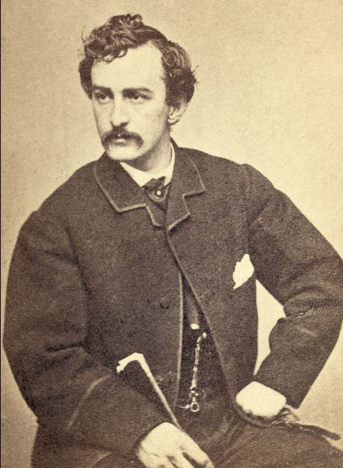 Dr. Armstrong and the Assassin John Wilkes Booth in 1865, Alexander Gardner, Library of Congress Prints and Photographs Division