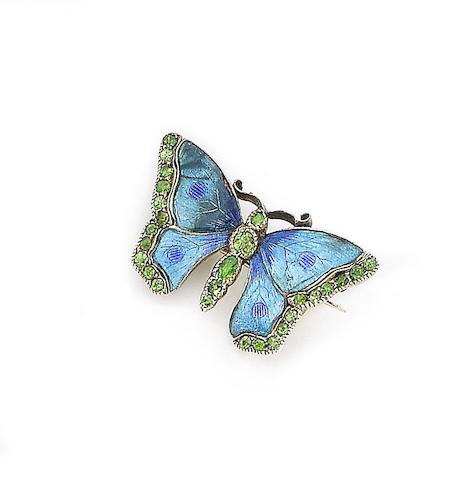 Buddha's Butterfly Butterfly brooch, c. 1900 http://www.bonhams.com/auctions/22633/lot/262/