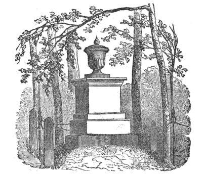 flame urn monument Auburn