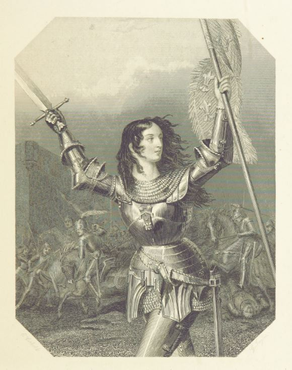 Joan of Arc Returns Joan of Arc 1869 British Library