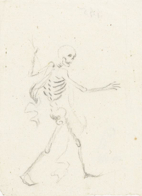 Walking in a Dead Man's Bones Lopend Skelet, Gesina ter Borch, c. 1656 https://www.rijksmuseum.nl/en/search/objects?q=skelet&p=2&ps=12&ii=2#/RP-T-00-58,14