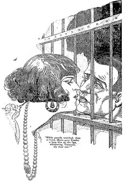 The Convict's Kiss of Death The convict Kessler is given the Kiss of Death by his sweetheart